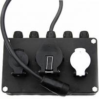 Адаптер электрический Aspock