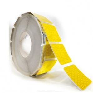Пленка для пунктирной контурной маркировки, желтая