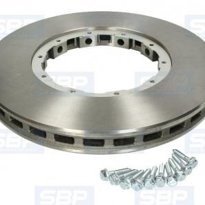 Тормозной диск SBP 02-DA001