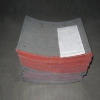 Комплект тормозных накладок SNF420x180