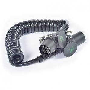 Спиральный кабель подключения питания 15-контактный